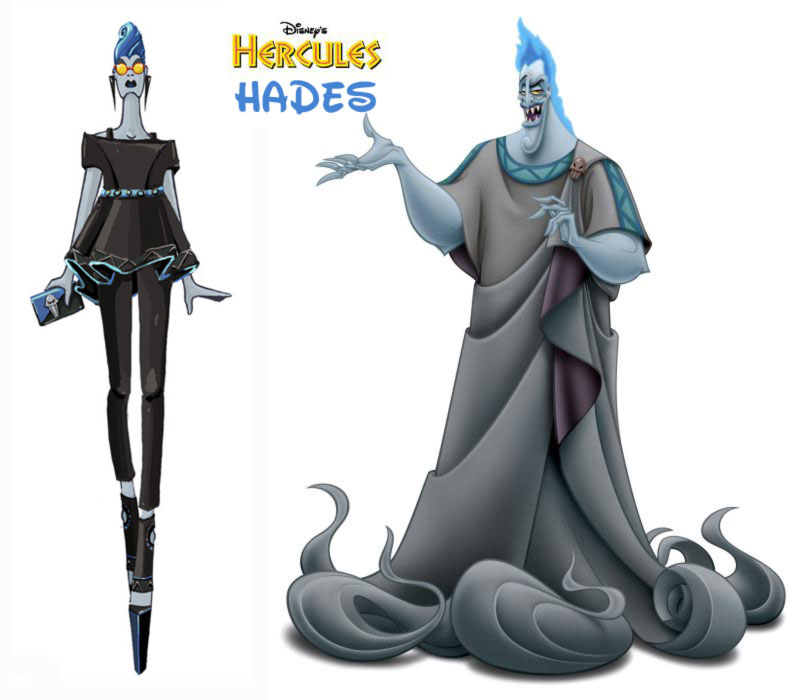 Hades Disney Villains Hercules fashion update