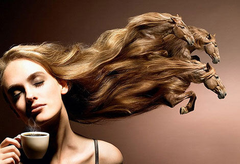 Hair Retouch : hair retouch in Photoshop