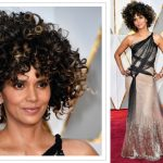 halle berry hair 2017 oscars red carpet