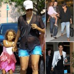 Halle Berry pregnant wardrobe black