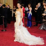 Halle Berry Marchesa sequined Marchesa dress 2011 Oscars 1
