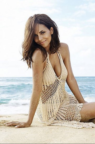 Halle by Halle Berry perfume ad campaign