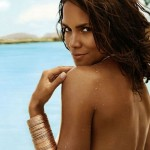 Halle by Halle Berry perfume ad print