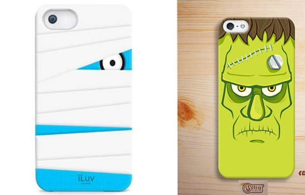 Halloween phone case ghost frankenstein