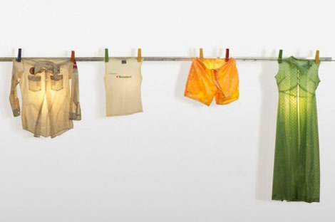 Hanging Clothes lamps Gaetano Pesce