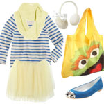 happy shopper outfit