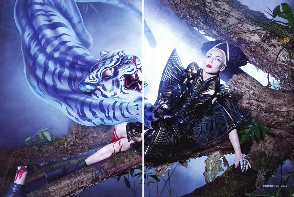 Harper s Bazaar China Daphne Guinness LaChapelle
