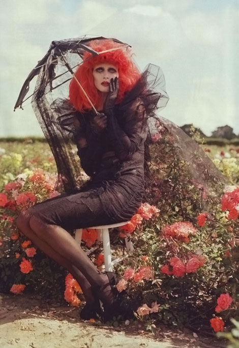 Harper s Bazaar october 2009 Tim Burton