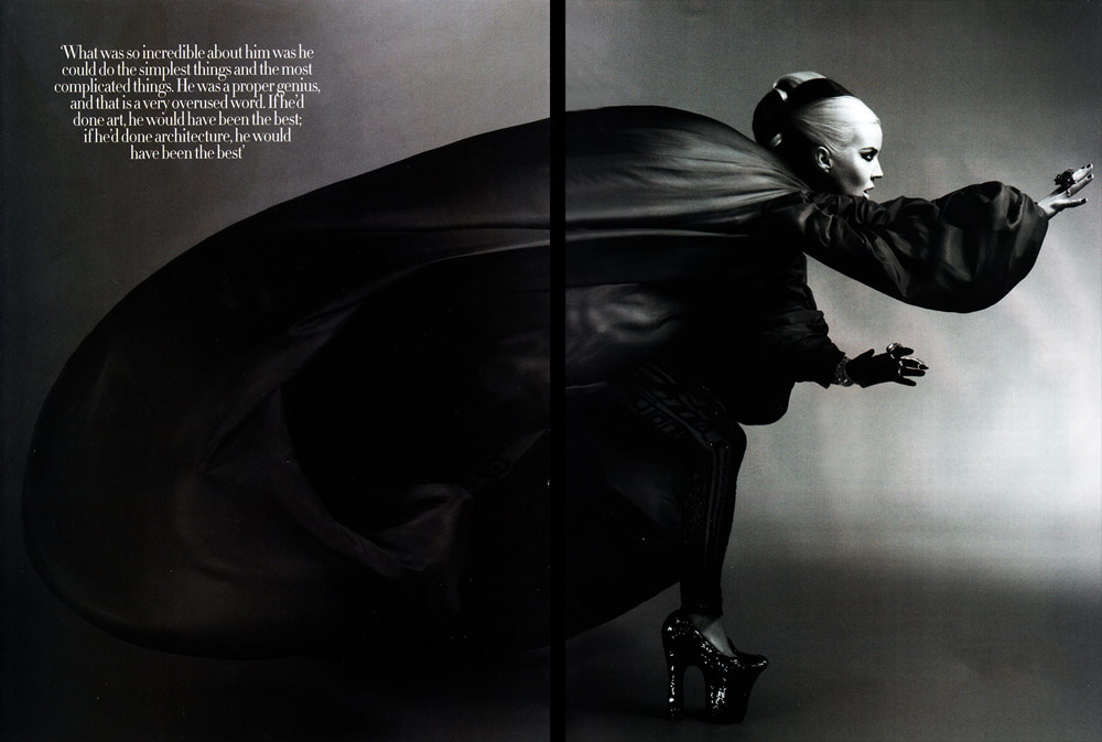 Harper s Bazaar UK May 2011 McQueen Daphne Guinness 1