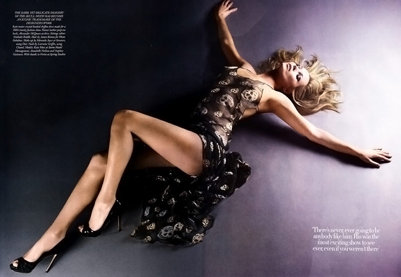 Harper s Bazaar UK May 2011 McQueen Kate Moss 1