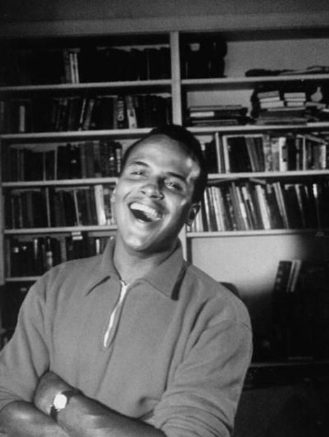 Harry Belafonte bw photo
