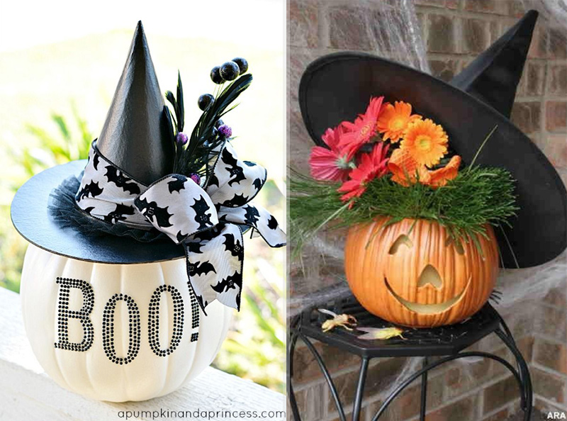 13 Fashion Pumpkins For A Stylish Halloween!