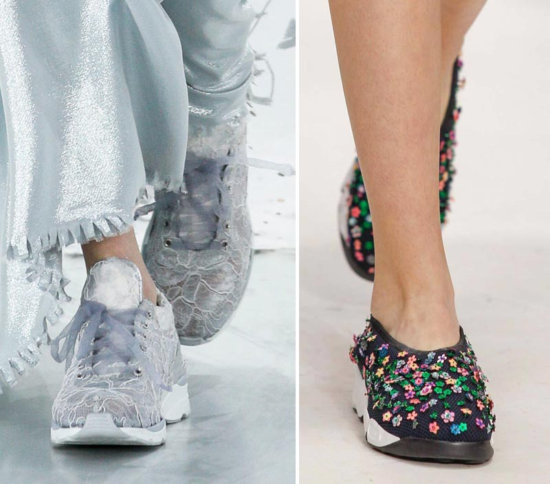 Haute Couture sneakers Chanel Dior