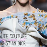 Haute Couture Summer 2016 Dior details