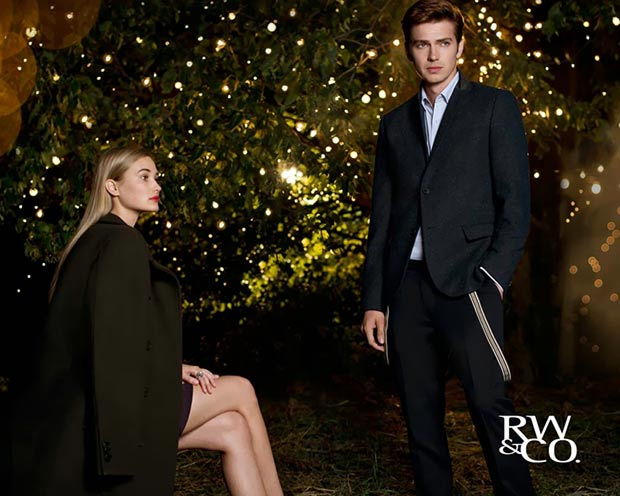 Hayden Christensen RW and Co collection ad campaign