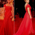 Hayden Panettiere 2009 Emmy Awards J Mendel dress