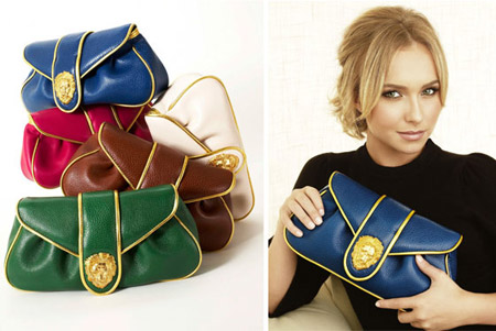 Hayden Panettiere Dooney and Bourke Hayden Clutches ad