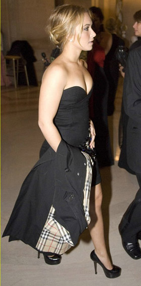 Hayden Panettiere Inauguration Ball LBD