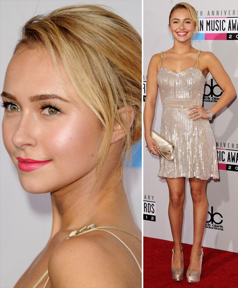 AMAs 2012 Red Carpet Dresses: Short And Sparkling