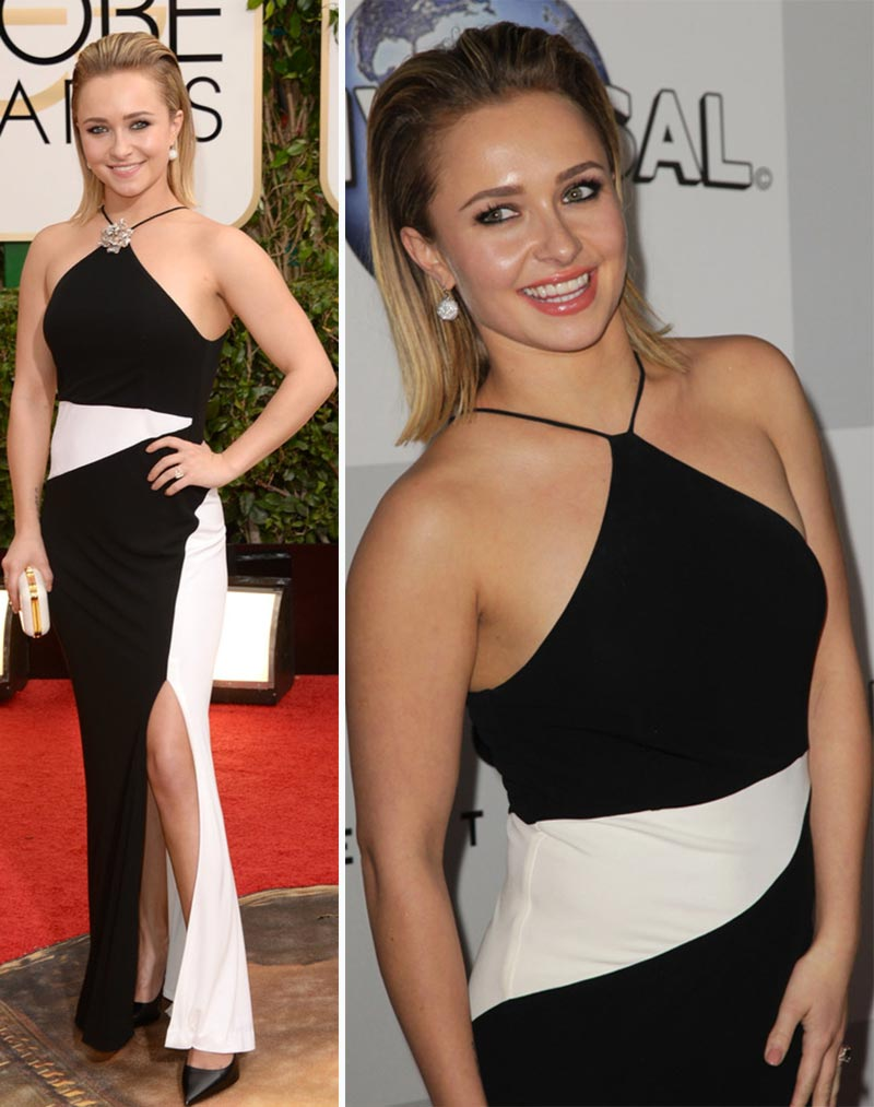 Hayden Panettiere Tom Ford dress Golden Globes 2014