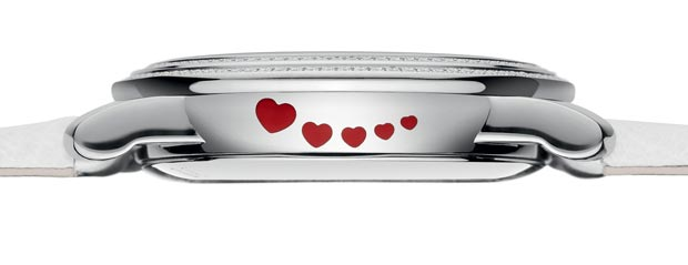 hearts on the side case Blancpain watch