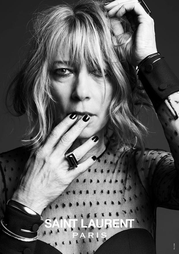 Hedi Slimane s Saint Laurent Paris Spring Summer 2013 campaign