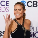 Heidi Klum hair and makeup People s Choice Awards 2013