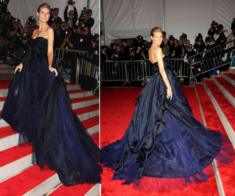 heidi klum jmendel dress met gala 09
