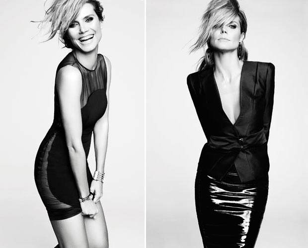 Heidi Klum new photos Marie Claire US February 2013