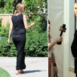 Heidi Klum pregnant still in the spotlight