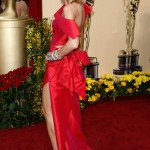 Heidi Klum Roland Moured dress 2009 Oscars 6