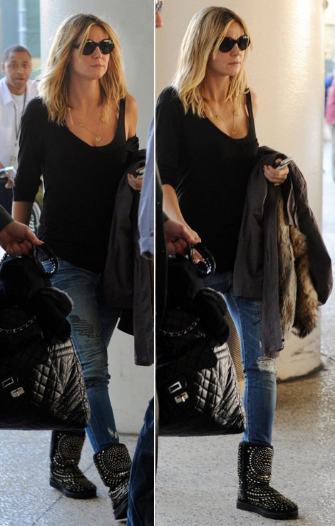 Heidi Klum Loves Her UGG By Jimmy Choo Boots
