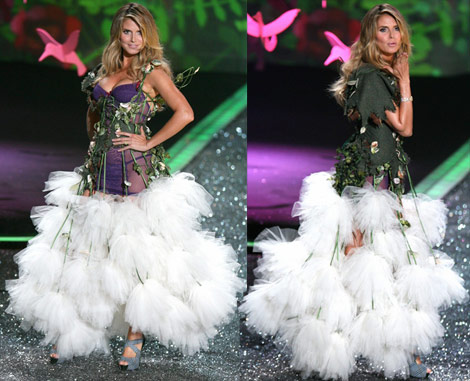 Heidi Klum's Victoria's Secret 2009 Enchanted Outfit