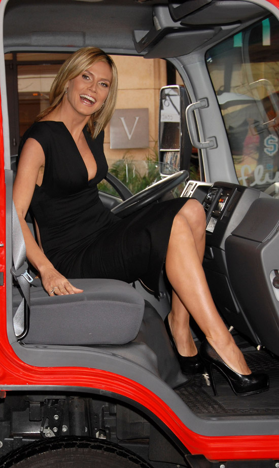Heidi Klum Victoria s Secret The Perfect One car