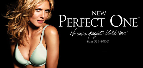 Heidi Klum Victoria s Secret The Perfect One ad