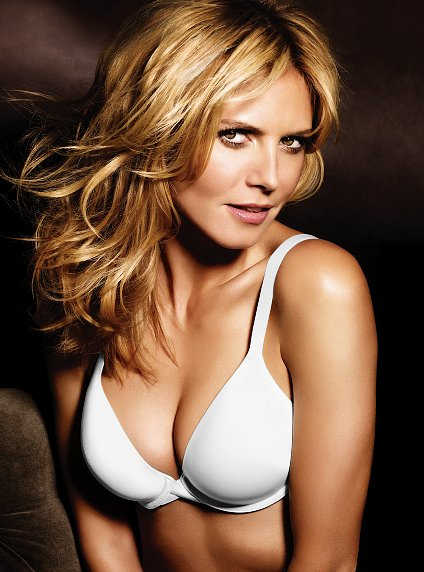 Heidi Klum Victoria s Secret The Perfect One bra white