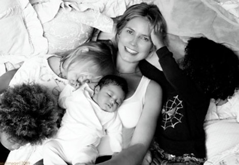 Meet Lou Sulola Samuel, Heidi Klum&#8217;s Beautiful Baby Girl!