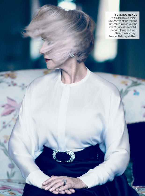 Helen Mirren by Mikael Jansson for Vogue US
