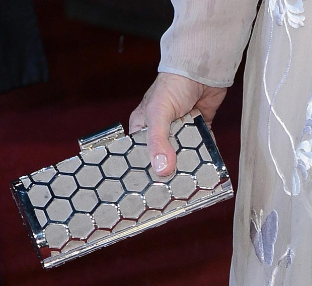 Helen Mirren clutch 2013 BAFTA Awards