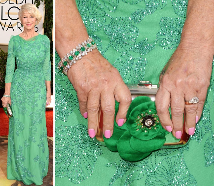 Helen Mirren nails 2014 Golden Globes
