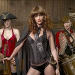 Helena Christensen Alice Dellal Agent Provocateur Pirates Collection