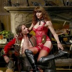 Helena Christensen Alice Dellal Agent Provocateur Pirates Collection 2