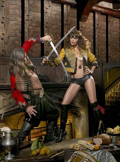 Helena Christensen Alice Dellal Agent Provocateur Pirates Collection 3
