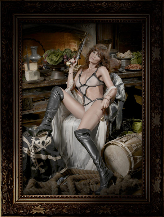 Helena Christensen Alice Dellal Agent Provocateur Pirates Collection 4