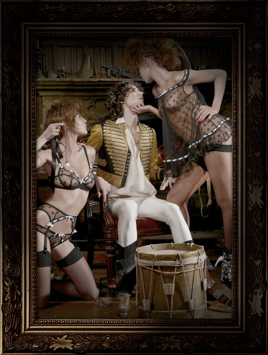 Helena Christensen Alice Dellal Agent Provocateur Pirates Collection 6