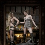 Helena Christensen Alice Dellal Agent Provocateur Pirates Collection 8
