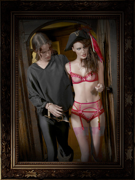 Helena Christensen Alice Dellal Agent Provocateur Pirates Collection 9