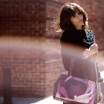 Helena Christensen bag fall 2013 Kipling
