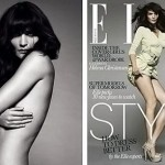 Helena Christensen Elle UK January 10
