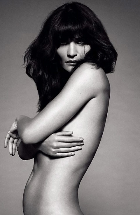 Helena Christensen Elle UK January 2010 1